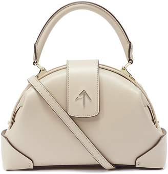Atelier Manu 'Demi' leather crossbody satchel