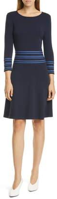 HUGO Sandreyya Fit & Flare Knit Dress