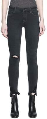 J Brand Mid Rise Skinny Cotton Denim Jeans