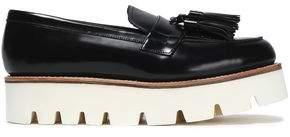 Grenson Tasseled Leather Platform Loafers