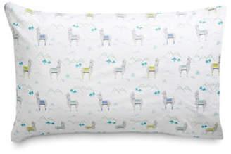 Martha Stewart Whim Llama Drama 200 Thread-Count Two-Piece Standard Pillowcase Set