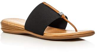 Andre Assous Nice Thong Sandals $89 thestylecure.com