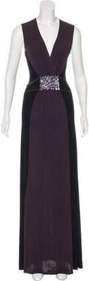 Rozae Nichols Sequined Maxi Dress