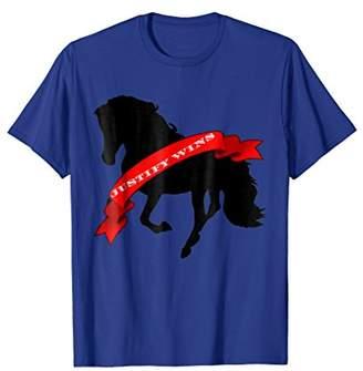 Kentucky Horse Race Justify Wins T Shirt