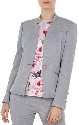 Ted Baker Daizi Textured Tailored Blazer