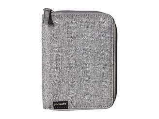 Pacsafe RFIDsafe LX150 RFID Blocking Zippered Passport Wallet