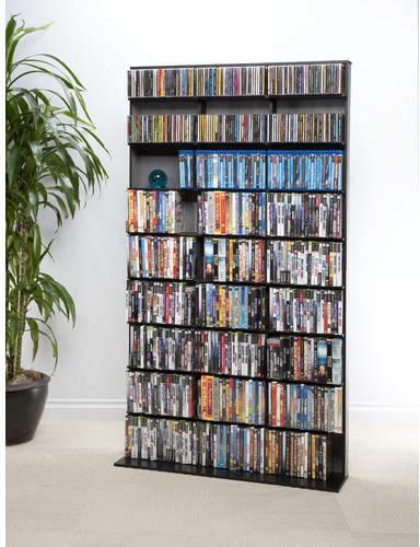Symple Stuff Multimedia Storage Rack