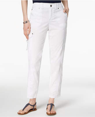 Style&Co. Style & Co Topstitched Pants, Created for Macy's
