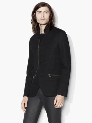 Knit Blazer in Wool Blend $698 thestylecure.com