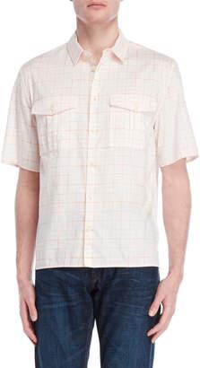 DKNY Checked Pocket Shirt