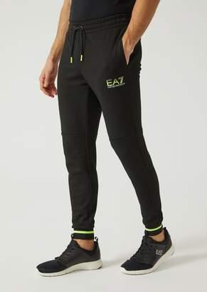 Emporio Armani Ea7 Trousers In Mesh Technical Fabric