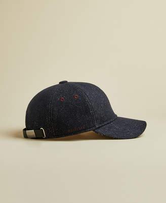 Ted Baker PHELPS Semi plain wool baseball cap