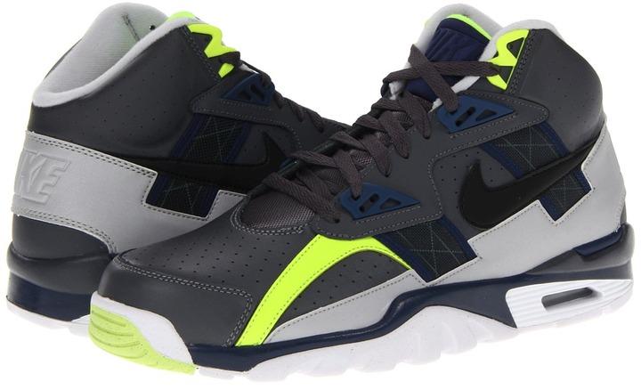 Nike Air Trainer SC High (Dark Grey/Midnight Navy/Neutral Grey) - Footwear