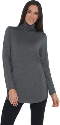 Belle By Kim Gravel Belle by Kim Gravel Ruched Turtleneck Tunic