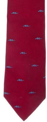 Givenchy Patterned Silk Tie