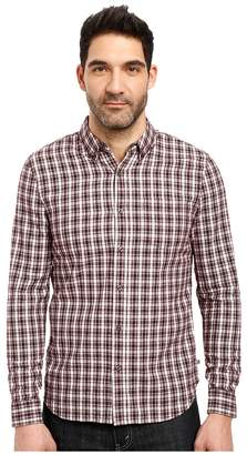 AG Adriano Goldschmied Grady Shirt in Crepe Plaid Men's Clothing