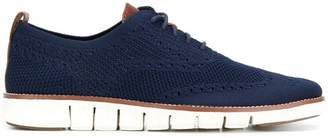 Cole Haan brogue detail lace-up shoes