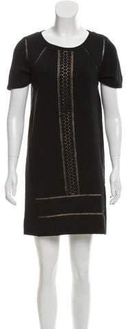 Marc by Marc Jacobs Lace-Accented Shift Dress