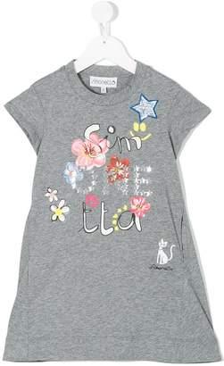 Simonetta printed T-shirt dress