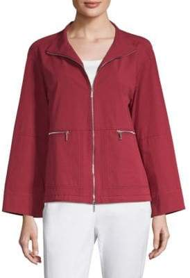 Lafayette 148 New York Kellen Short Cotton Jacket