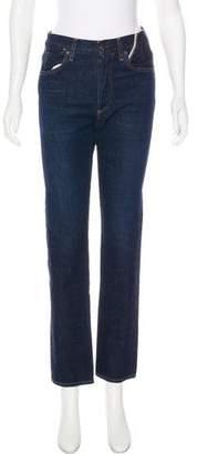 Jean Atelier High-Rise Straight-Leg Jeans