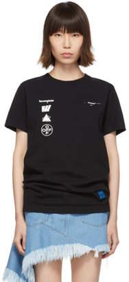 Off-White Off White Black Mariana de Silva Slim T-Shirt