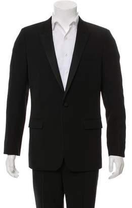 Saint Laurent Satin-Trimmed Tuxedo Jacket