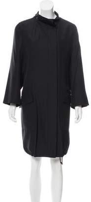 Akris Lightweight Silk Coat