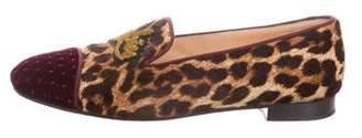 Christian Louboutin My Love Ponyhair Loafers