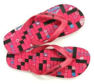 Volcom Cross Werd Girls Creedler Sandals 04 1/2 Child