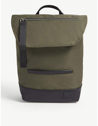 CHARLIE FEIST Sakai recycled shell and vegan leather backpack