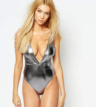 Wolfwhistle Wolf & Whistle Metallic Twist Swimsuit B/C - E/F Cup