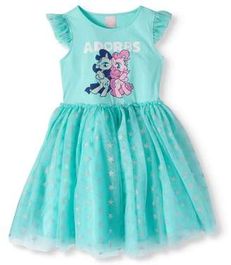My Little Pony Girls' Ruffle Tutu Dress