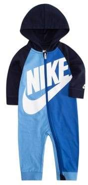 Nike Baby Boy's Colourblock Hooded Coverall
