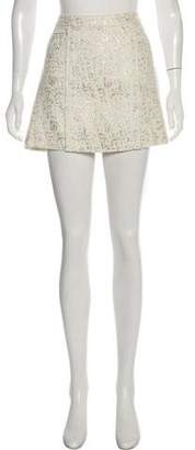 Rachel Zoe Embroidered Mini Skirt w/ Tags