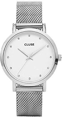 Cluse Womens Analogue Classic Quartz Watch with Stainless Steel Strap CL18301
