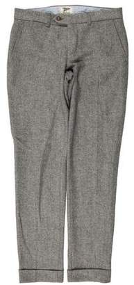 Gant Herringbone Wool Pants