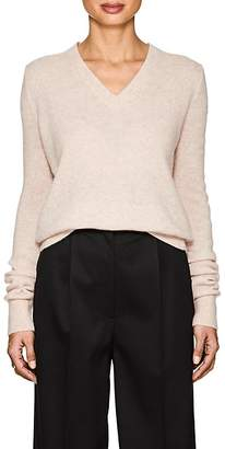 The Row Women's Tinco Fine-Gauge Cashmere-Silk V-Neck Sweater