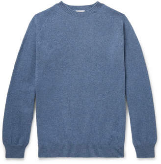 Sunspel Wool Sweater - Men - Blue