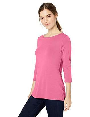 D and Jones Women's Dejn-dp192w-perfect Fit Ballet Bracelet T-Shirt