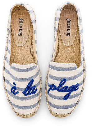 Soludos A La Plage Smoking Slipper