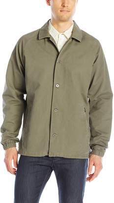 RVCA Men's Mvp Coach's Cotton Jacket