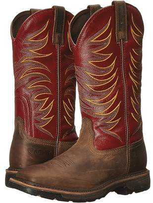 Ariat Workhog Wide Square Toe Tall II Men's Work Boots