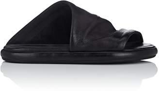 Marsèll Women's Asymmetric Leather Slide Sandals