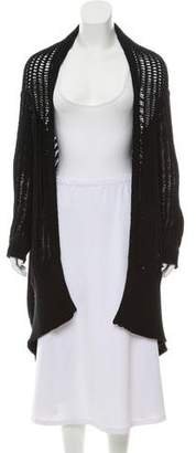 Rick Owens Long Sleeve Open Front Shrug