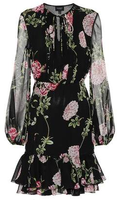 Giambattista Valli Floral-printed silk dress