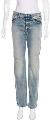 R 13 The Classic Mid-Rise Jeans