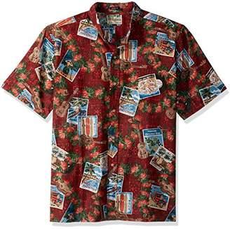 Reyn Spooner Men's Christmas Spooner Kloth Classic Fit Shirt