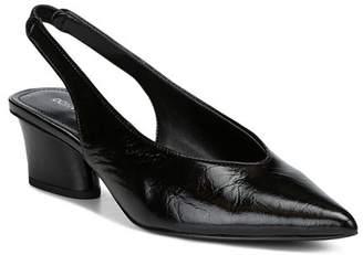 Donald J Pliner Women's Gema Pointed Toe Patent Leather Mid-Heel Pumps