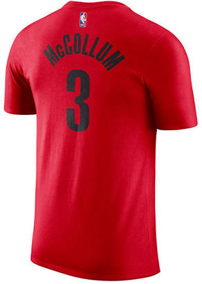 Nike Men C.j. McCollum Portland Trail Blazers Name & Number Player T-Shirt